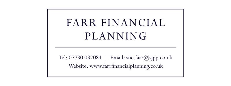 Sue Farr financial planning logo